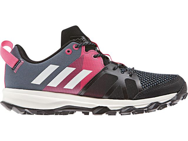 adidas Kanadia 8.1 Shoes Kids Raw Steel/Off White/Real Pink